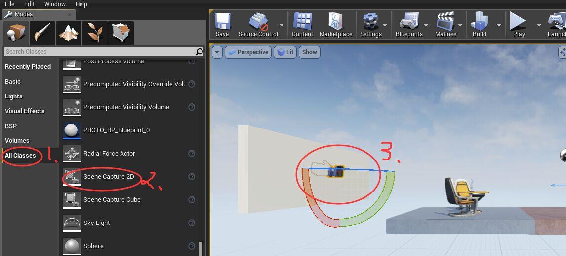 UE4蓝图案例:制作实时反射镜面材质 UE4教程 第3张