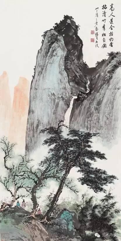 中国画的水墨意象与图像语义 汤胜天