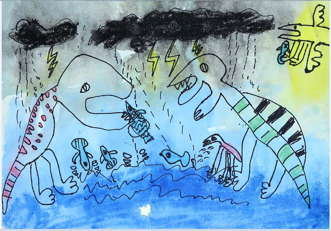 如何教水粉画 少儿儿童绘画美术教育培训 -童画,童画少儿美术官网