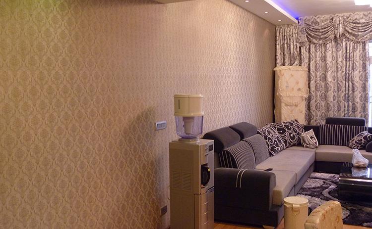 室内装修铺贴墙布有什么好处?