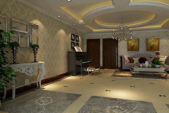 简欧式的装修风格一直受到大部分业主的青睐,今天互联网家装小编就给大家展示一些客厅效果图,大家做一下参考。  简欧客厅装修效果图 简欧客厅装修效果图1 整个空间摒弃传统婚房的鲜亮色彩,选择淡雅素净的色调,营造出温馨典雅的温馨婚房。而且也给人一种简约欧式的清新与自然,更加的增添了客厅的温馨感。
