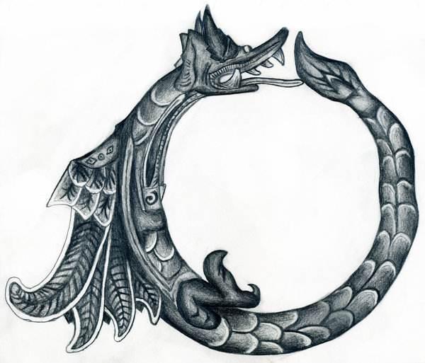 解读《降临》:在时间的长河里衔住自己的尾巴 - 狐狸·梦见乌鸦 - 埋骨之地
