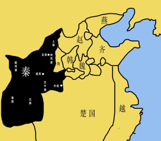 [转载]亲绘7张地图,告诉你大秦帝国是怎样崛起,将东亚