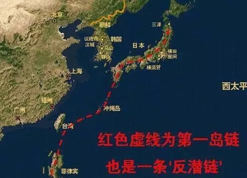 """终于出了口恶气!第一岛链成""""纸链""""!中国战机终于扬眉吐气"""