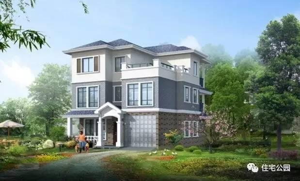 样建好房,10X11米3层农村别墅方正大气,含装修