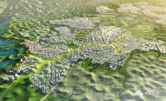 光国际标准推进天府国际机场和空港城市规划建设