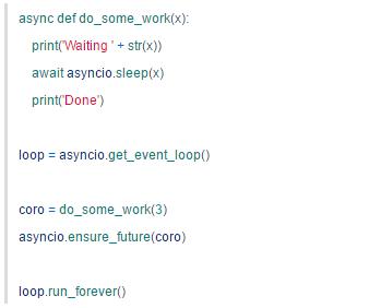 Python 的异步 IO:Asyncio 简介