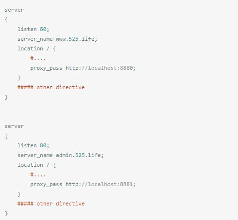 Nginx的安装和多域名配置