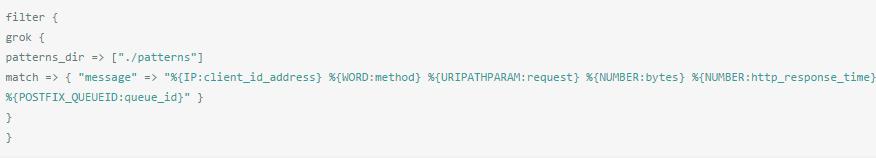 使用Logstash filter grok过滤日志文件