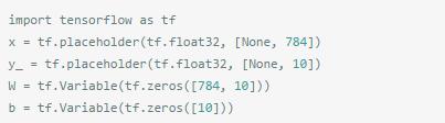 Tensorflow自学之前的bigpicture