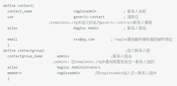 如何实现nagios发送通知邮件