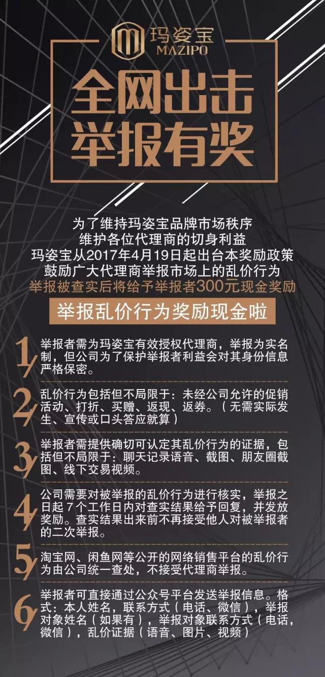 公告:关于网络店铺销售假货、乱价等违规行为管控升级