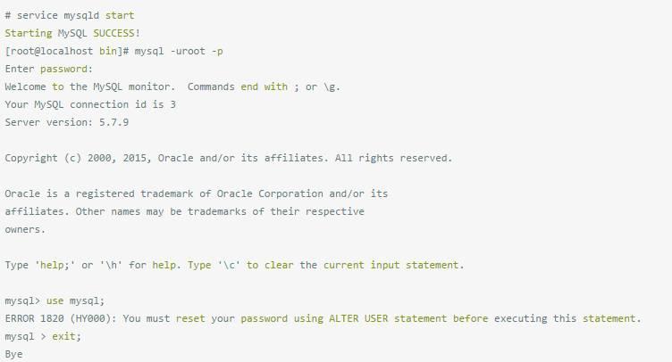 "4位CentOS6安装MySQL-5.7.13-linux-glibc2.5-x86_64.tar.gz"""