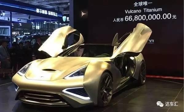 上海车展看完这几款车,我决定不卖房了……