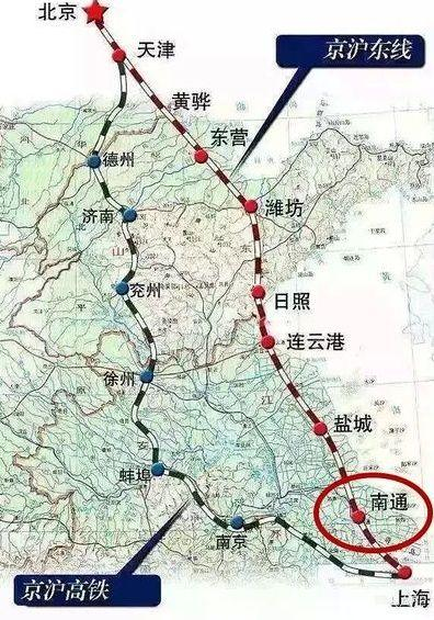 京沪高铁要修二线,沿途11个城市已曝光