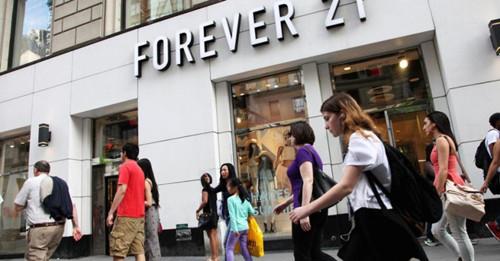 Forever21美妆店有着落 要抢丝芙兰生意?_1
