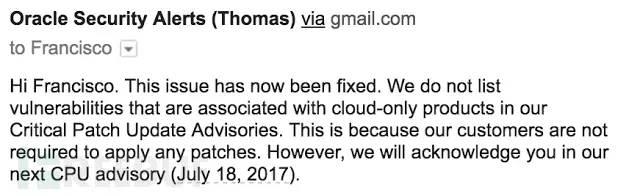 如何发现Oracle Responsys云服务系统中的漏洞