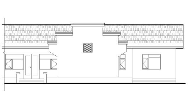 易盖房图纸:徐州徽派农村别墅,光庭院就有600平米,邻居各个都羡慕