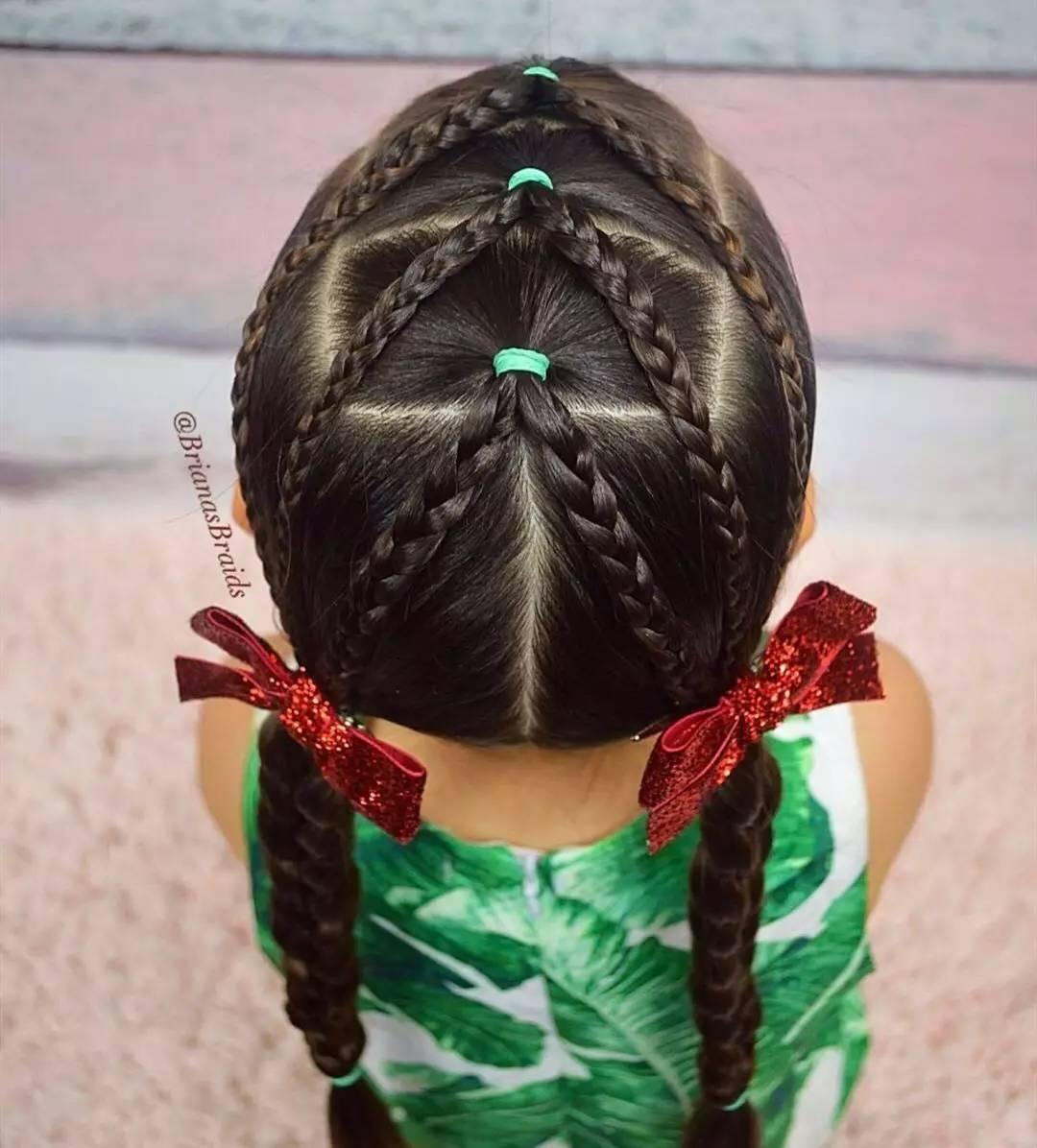 Прически для девочек с резинками: варианты и пошаговые схемы с фото