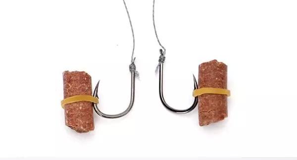 钓鱼塘主 钓鱼大师总结9种钓饵的挂钩方法第二篇,值得收藏