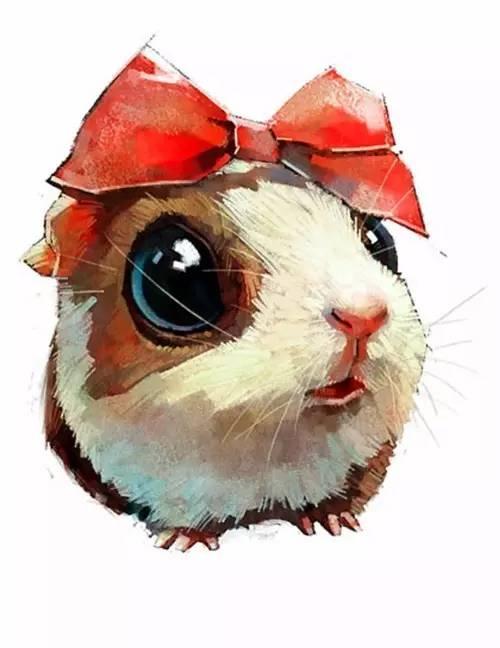【蹦星人与呆萌兔】 12只超可爱的手绘卡通兔,总有一只萌到你( ⊙ o