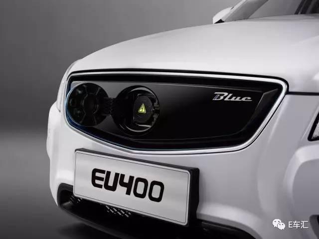 超长续航 北汽EU400纯电动车仅售15.89万