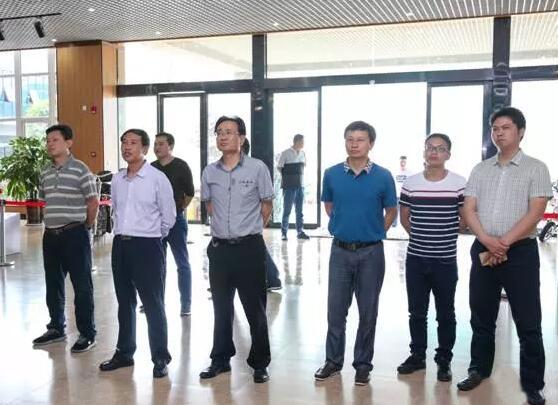 毕节市政府考察团一行考察兴东民族大健康产业园