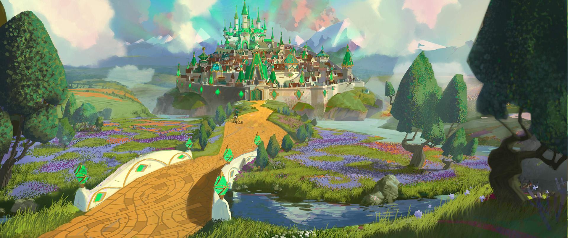 《绿野仙踪》魔幻冒险秀,开心成长路 - 狐狸·梦见乌鸦 - 埋骨之地