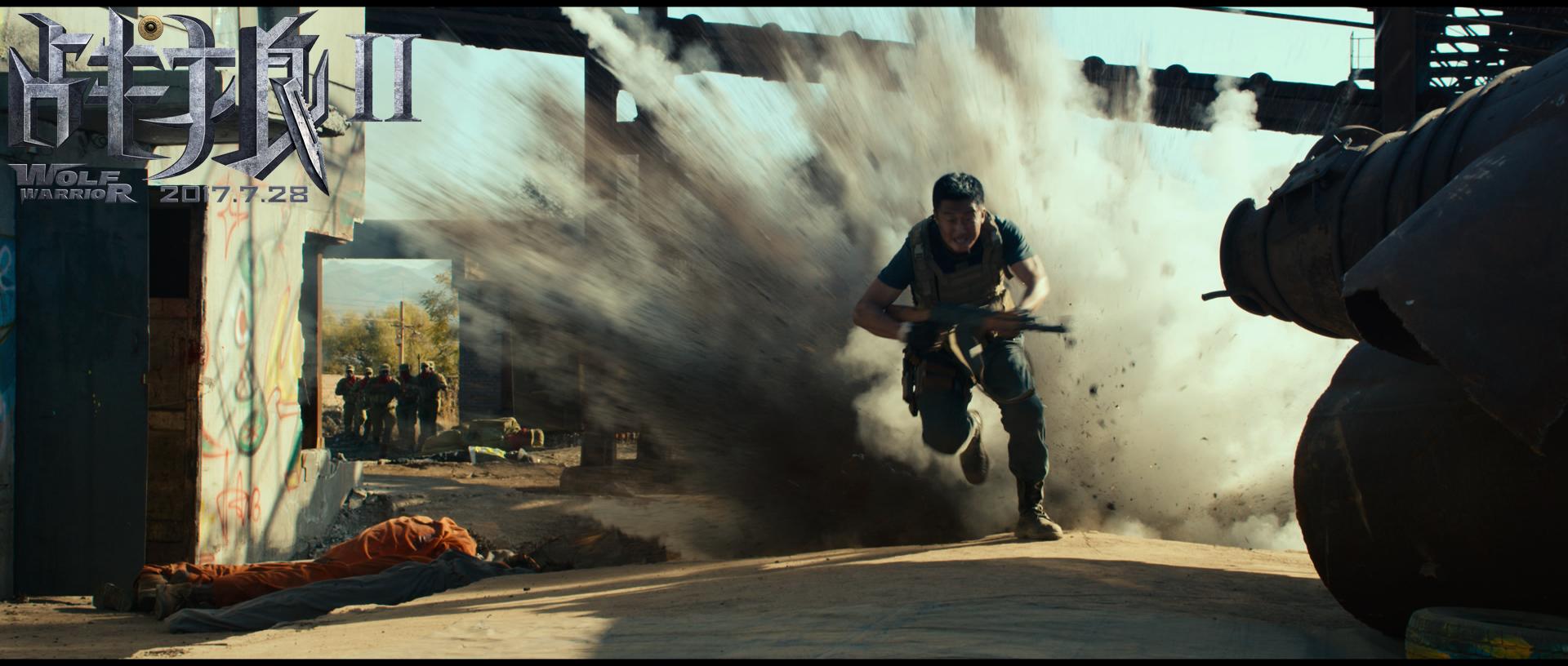 《战狼2》潜龙勿用,见狼在野:孤胆英雄燃爆军魂 - 狐狸·梦见乌鸦 - 埋骨之地