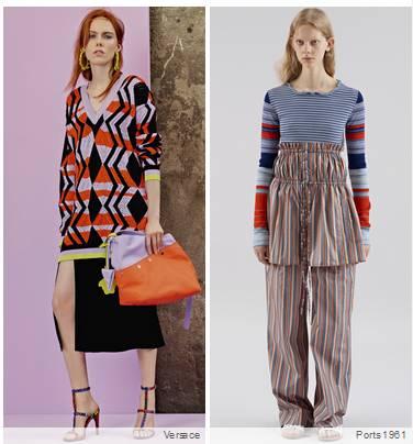 2018度假女装时尚亮点:线缝 & 图案