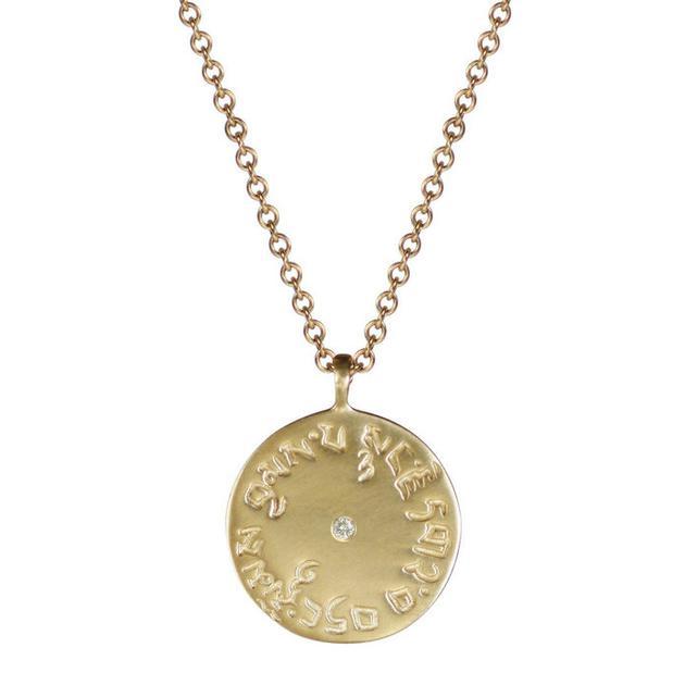 今夏流行钱币项链 做个有故事的神秘女孩