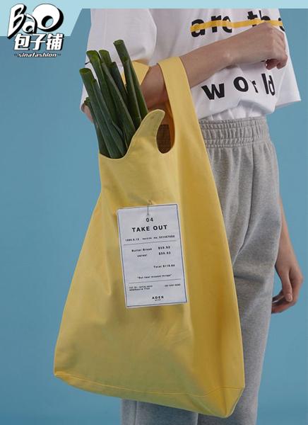 """#包子铺#说真的 我拎个""""购物袋""""都比你时髦"""