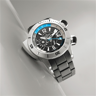 炎炎夏日深潜 5款潜水腕表为夏日添沁蓝