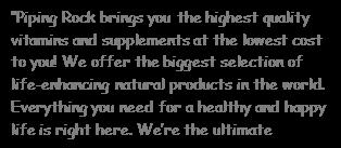 美国NBTY创始人打造全新营养品牌Pipingrock,进…