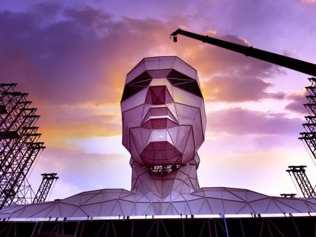 汪峰鸟巢演唱会巨型道具曝光,震撼到无法形容!