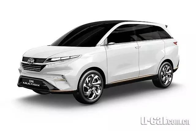 6座MPV与小型轿车,大发两款概念车在印尼发表