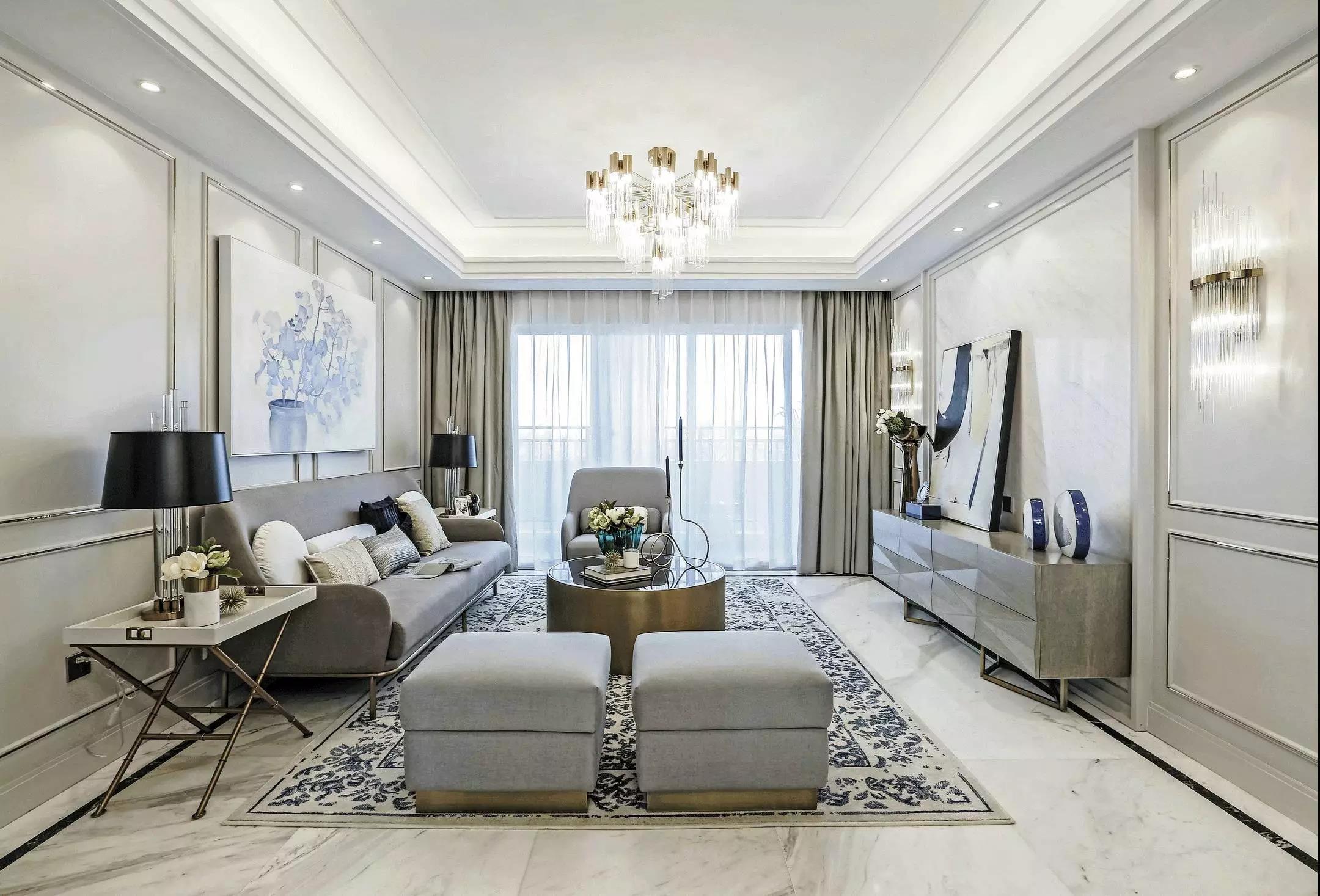 武汉高端别墅装修设计,这样的轻奢装修,最时髦!