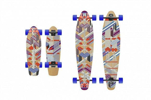 爱马仕也出了滑板 ACE TEE x H&M合作系列也赶上嘻哈热