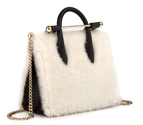 Strathberry推出全新2017年秋冬短羊毛系列包包