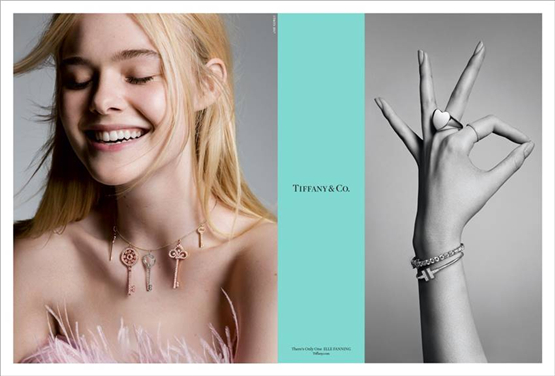 "Tiffany & Co.蒂芙尼全新大片 ""There's Only One""唯你独一"