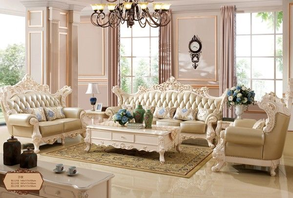 欧式沙发更注重的是色彩的搭配