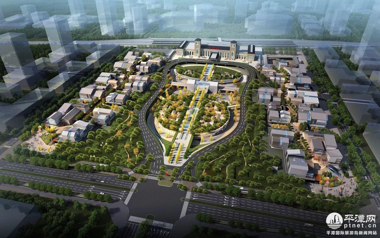 规划公建建筑面积_平潭高铁中心站已动工 计划2019年完工