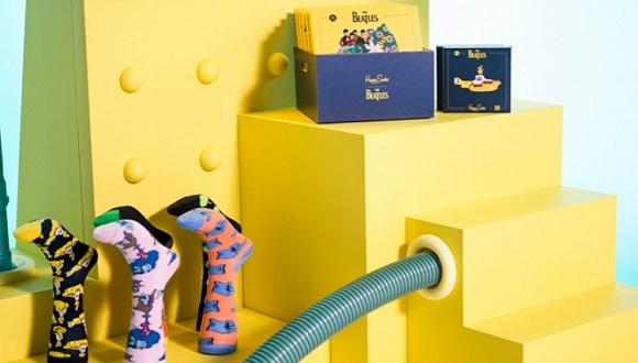 甲壳虫乐队与Happy Socks合作卖袜子 Diesel发布第一款触屏智能腕表