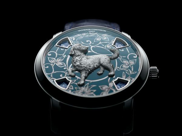 江诗丹顿推出中国十二生肖传奇之狗年腕表 限量发行十二枚
