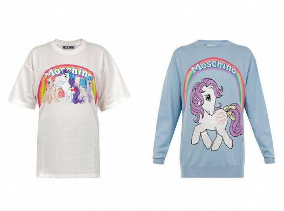 初秋搭配可参考&Other Stories2017秋季系列 Moschino与My Little Pony推出合作款