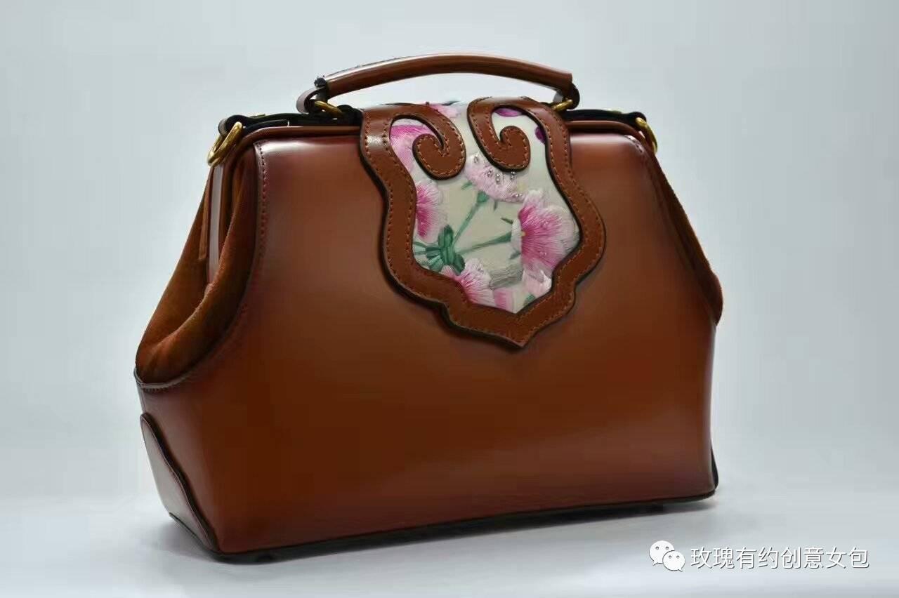 """""""玫瑰有约""""绣艺手包   一席墨华,浸染方寸间的时尚致美"""