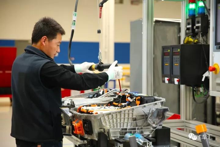 宝马国产动力电池中心 走在豪华品牌前列