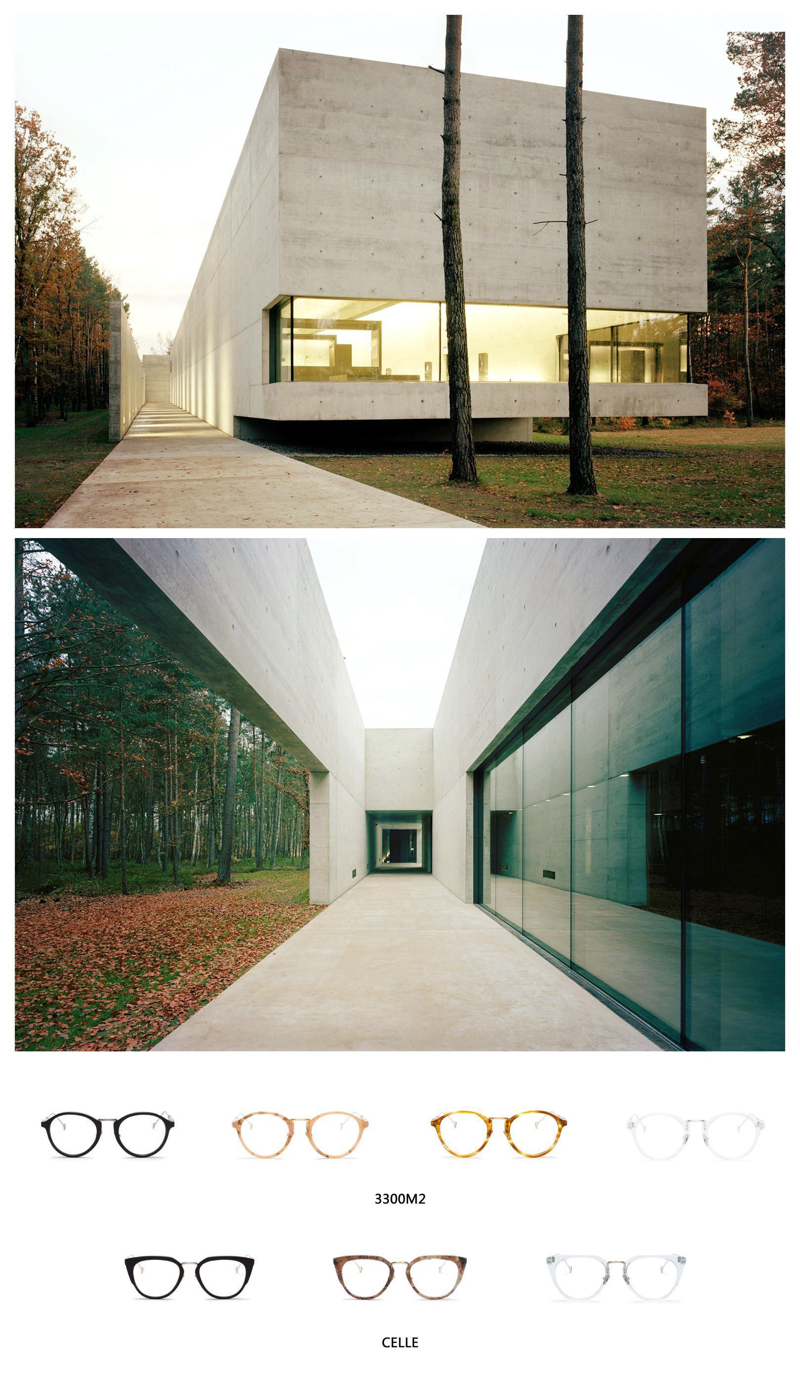 这6个世界建筑的精华,浓缩成了HAZE的眼镜艺术