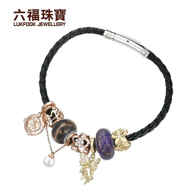 双十一六福珠宝DEAR Q系列钻石吊坠免费送
