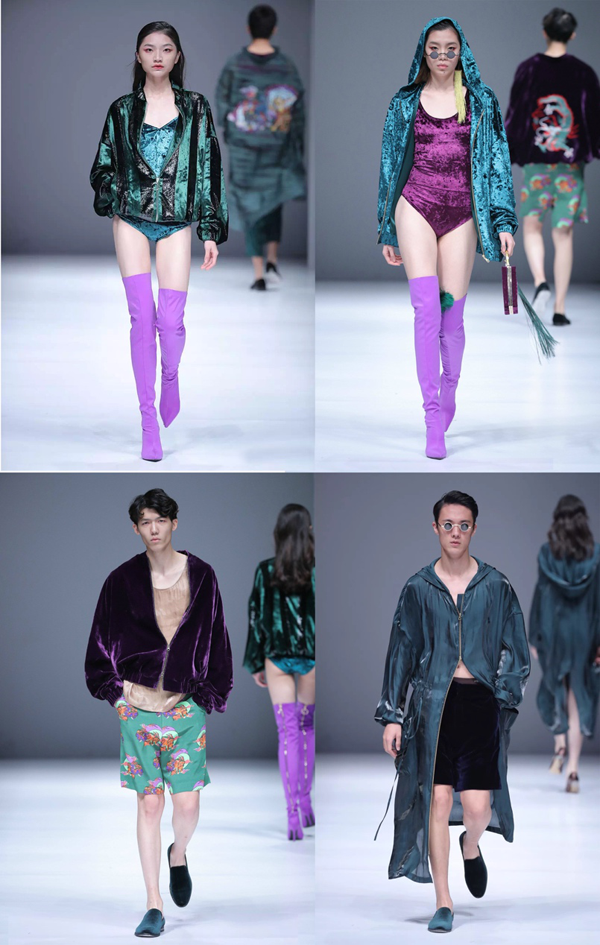 """""""九野""""Y's mono/化物发布会2018SS中国国际时装周上的中国式新设计"""